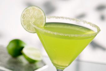 Sweet and Sour Midori Martini