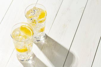 Elderflower Vodka Tonic