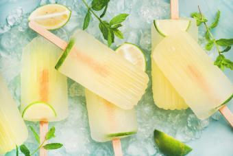 Gin and Tonic Ice Pops