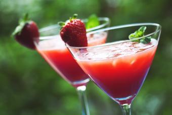 Shaken Strawberry Daiquiri