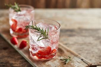 Rose's Sparkling Strawberry Daiquiri