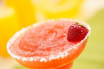 Frozen Strawberry Shortcake Daiquiri