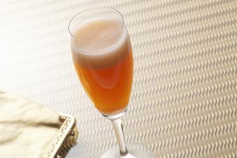 Sparkling Cider Martini