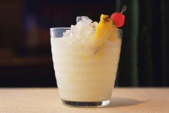 Fuzzy Pineapple and Coconuts Slush