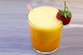 Fuzzy Navel Berry Slush