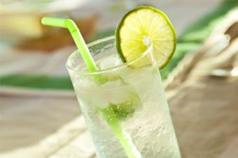 Vodka Limeade highball