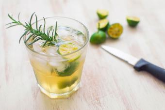 Rosemary Vodka Limeade Refresher
