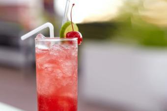 Cherry Vodka Limeade Highball