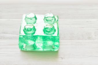 Electric Lemonade Jello Shot brick