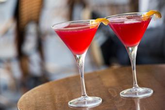 Raspberry Mango Martini
