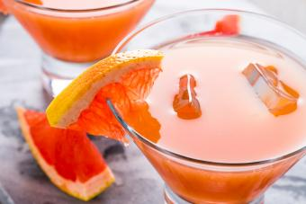 Grapefruit Mango Martini