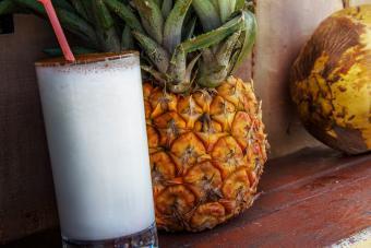 Blended Coconut Margarita