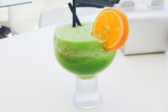 Blended Honeydew Margarita