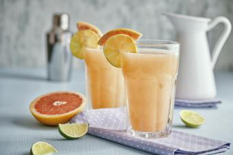 Palomas Cocktail with Grapefruit, Tequila and Lemon