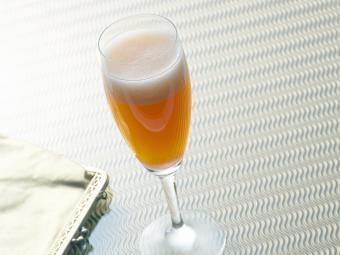 Cider Bellini