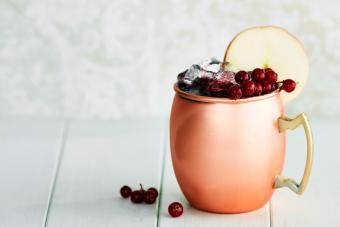 Cranberry Mocktail Mule