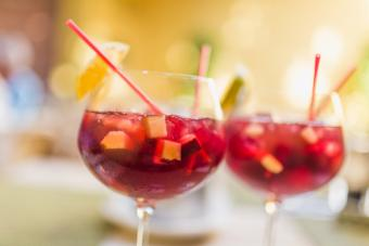 Red Apple Sangria Punch