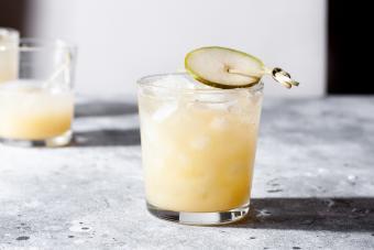 Sparkling Harvest Pear Punch