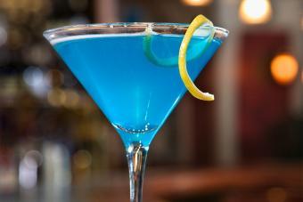 sweet tart blue martini