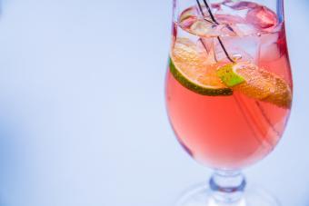 raspberry lime sweet tart cocktail