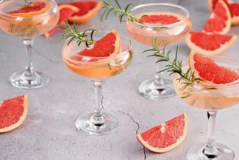 Sparkling Grapefruit Martini