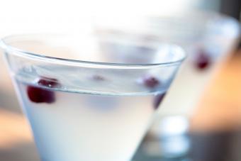 Frosty Cranberry Martini
