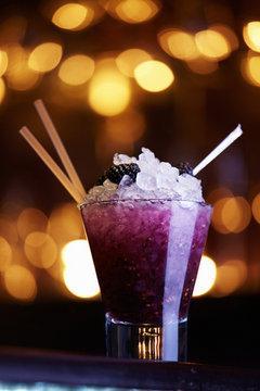 Blackberry Frozen Rum Runner