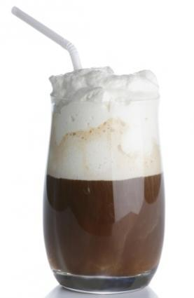 Irish coffee is a delectable treat
