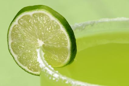 lime and tequila drink