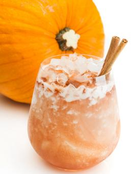 Pumpkin Puree Cocktail drink