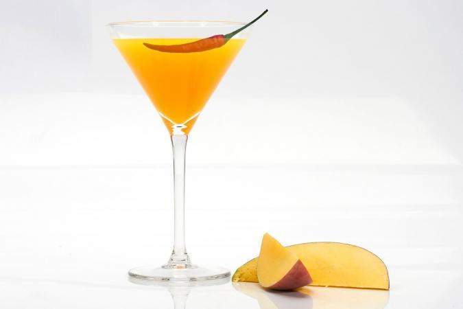 Chili Mango Martini