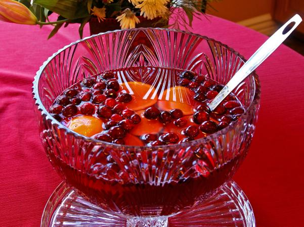 Mixed Fruit Punch Bowl Cake