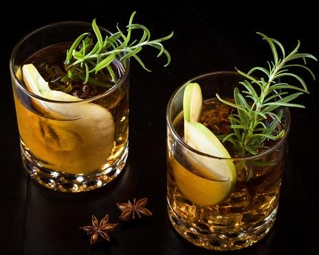 Apple Rosemary Julep
