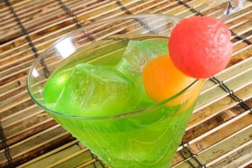 Cucumber Melon Ball
