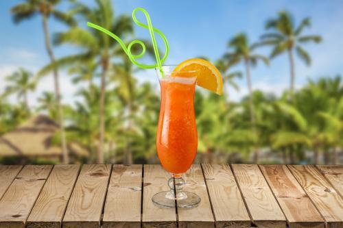 Non-alcoholic Bahama Mama drink