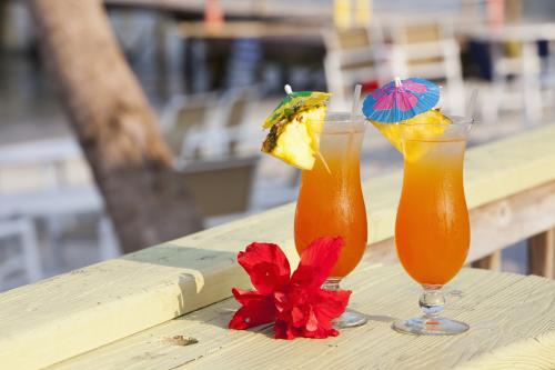 Non-alcoholic planters punch