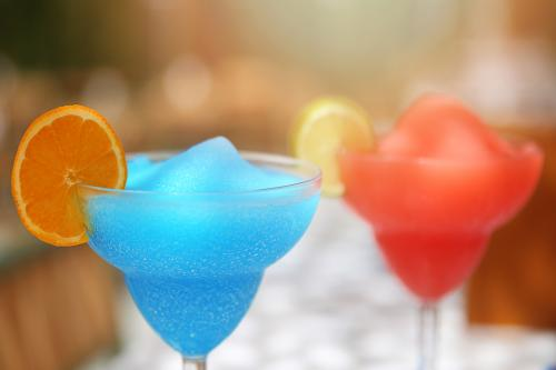 Frozen blue daiquiri