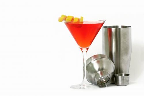 Crown apple Manhattan cocktail