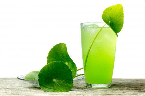 Hulk Smash cocktail