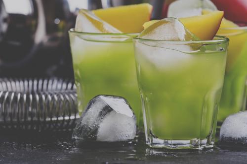 Hulk on vacation cocktail
