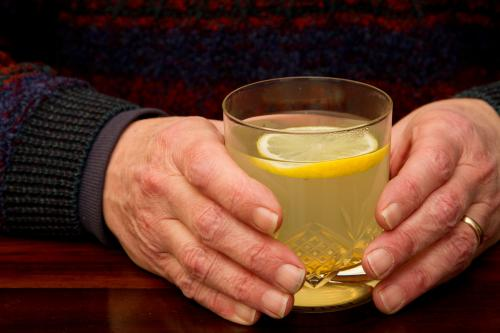 Warming up with a hot toddy