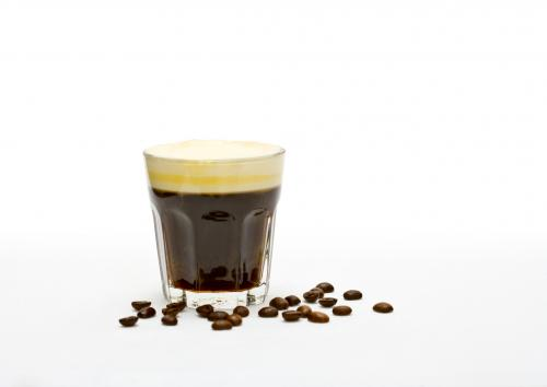 Sambuca orange coffee