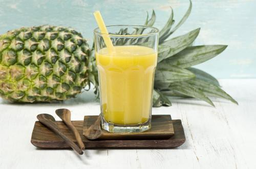 Hawaiian twist non-alcoholic drink