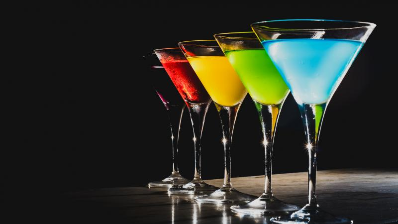Jolly Rancher martinis are based on the classic candies.