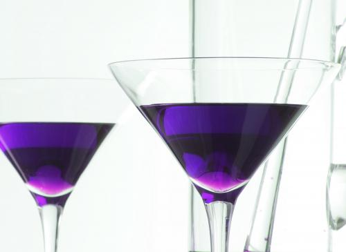 grape Jolly Rancher martini