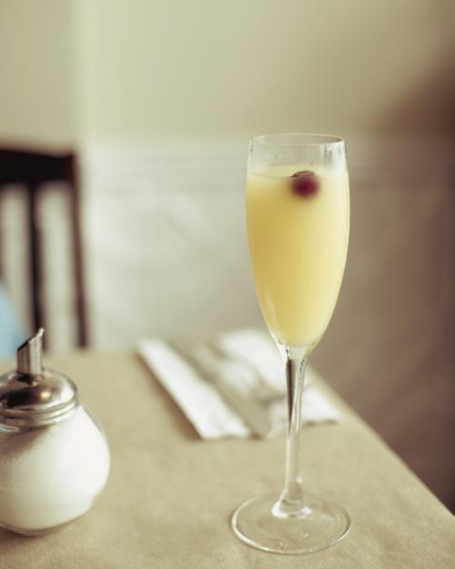 Nonalcoholic mimosa