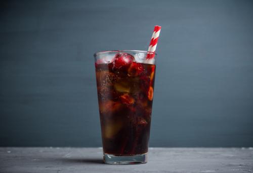 Kahlua and Coke drink