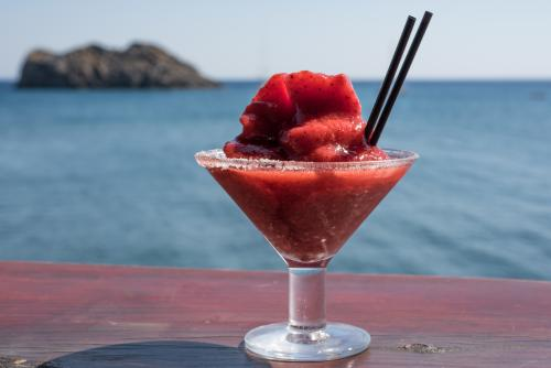 Frozen virgin strawberry daiquiri