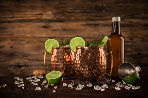 Low-carb Moscow mule