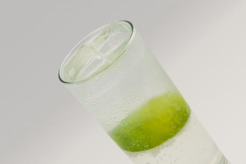 Vodka rickey cocktail